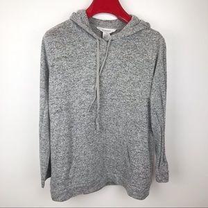 Workshop Hoodie Pullover Gray Sweater